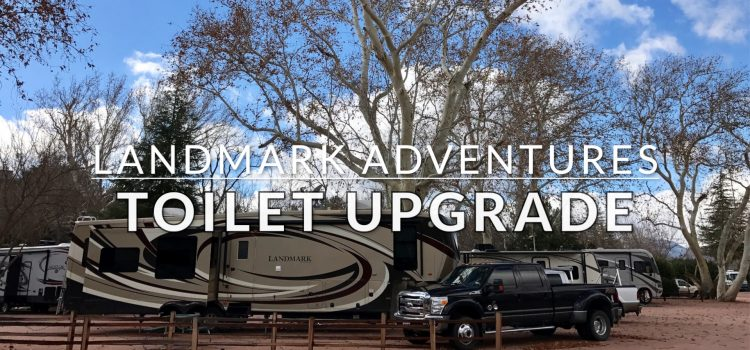 Upgrading our RV's Toilet (VIDEO)