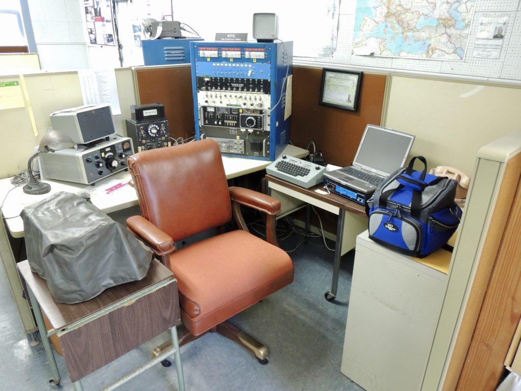 Radio operator position at KPH