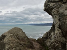 Hiking in Patrick's Point State Park, California
