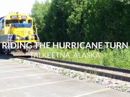 Riding Alaska's Hurricane Turn, the Last Flagstop Train (VIDEO)