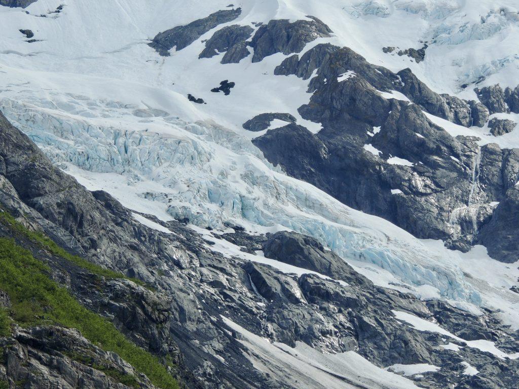 Byron Glacier close-up