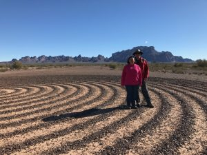 Kokopelli Spiral Labyrinth