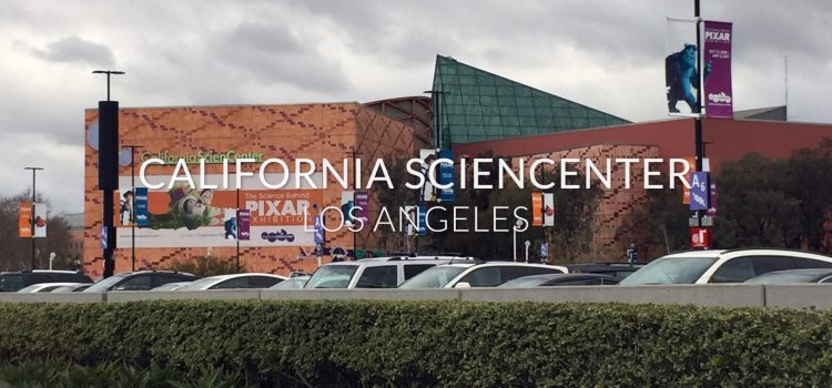 The Science Behind Pixar & Space Shuttle Endeavour at the California ScienCenter (VIDEO)