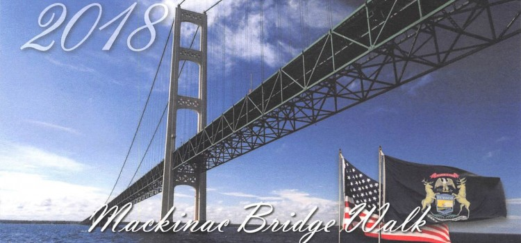 Walking Michigan's Mackinac Bridge