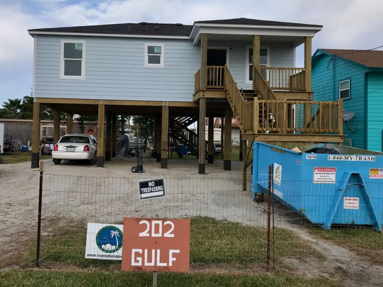 New house built by CBDRG at 202 Gulf